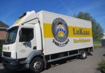 Ontwerp vrachtwagen